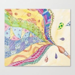 The Painted Quilt Canvas Print