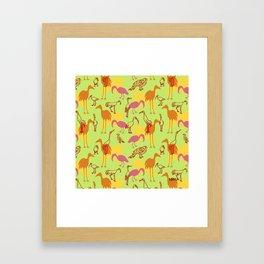 Feathered Flocks - Gaggle Framed Art Print
