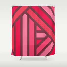 Lined Lines Shower Curtain