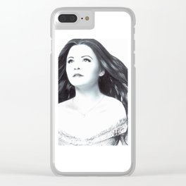 Snow White Clear iPhone Case