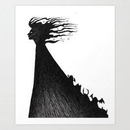 What Dreams Art Print