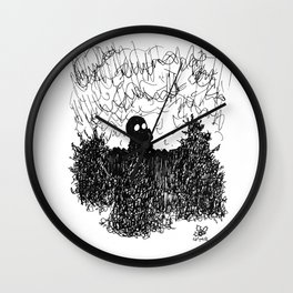 You Are Who You Choose To Be Wall Clock