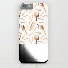 Good Hair Day – Rose Gold Palette iPhone Case