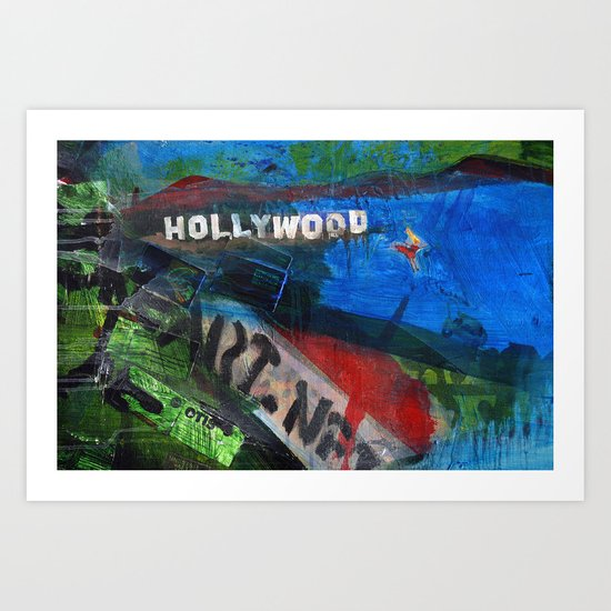 Holly Would Art Print
