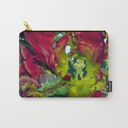Still life with Red Tulips Carry-All Pouch