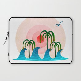 060 - Waiting for the big wave Laptop Sleeve