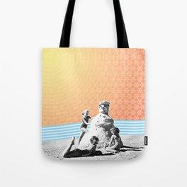 Winter in Paradise Tote Bag