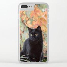 Autumn Jade Clear iPhone Case