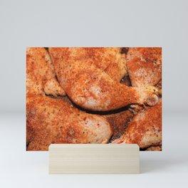 BBQ Chicken Mini Art Print