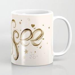 Coffee Molecules Caffeine Coffee Mug
