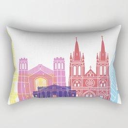 Adelaide V2 skyline pop Rectangular Pillow