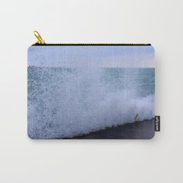 Lake Michigan Natural Fountains #1 (Chicago Waves Collection) Carry-All Pouch