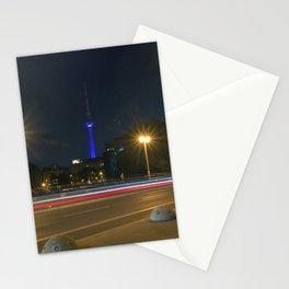 Nocturnal Landscape of Berlin Stationery Cards