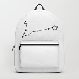 Pisces Astrology Star Sign Minimal Backpack