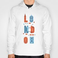 london Hoodies featuring London by Wharton