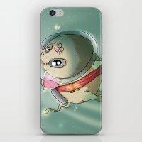 scuba iPhone & iPod Skins featuring Scuba Cat by Nogland