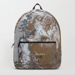 Bronzed Backpack