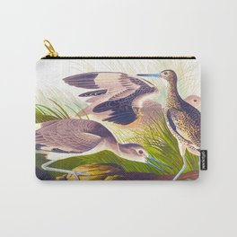 Semipalmated Snipe, or Willet Bird Carry-All Pouch