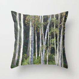 Shinrin-yoku Throw Pillow