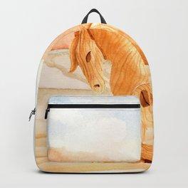 Wooden Horse Backpack