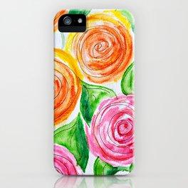 lollipop roses iPhone Case