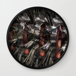 Brush Wall Clock