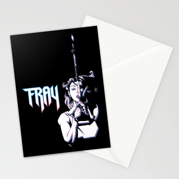 Fray the Lurk Slayer Stationery Cards
