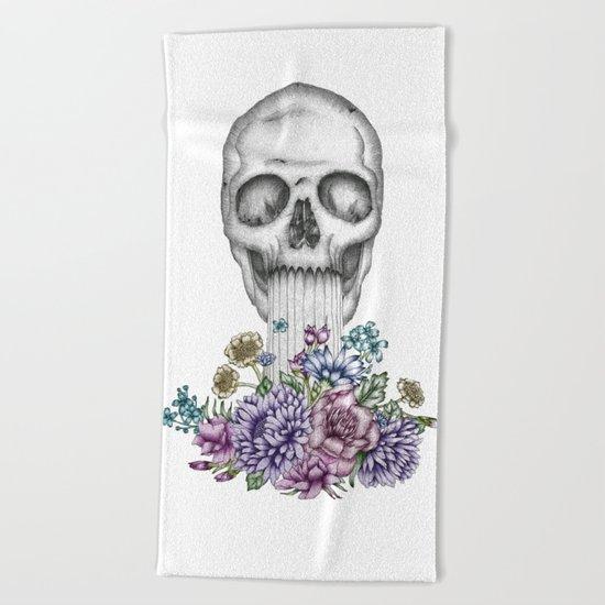 The Birth of Death II Beach Towel