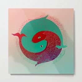 Year of the Fish Metal Print