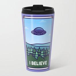 I Believe Travel Mug