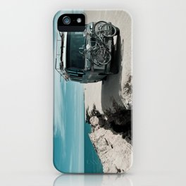 Living on the edge iPhone Case