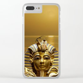 Egypt King Tut Clear iPhone Case