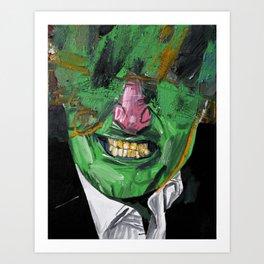 Pity party. Art Print