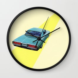 Open Road Wall Clock