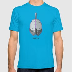 Loot#1 - Helm of Saint 14 Teal X-LARGE Mens Fitted Tee