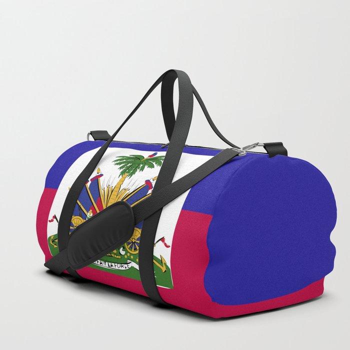 Haiti flag emblem Duffle Bag