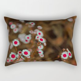 Painting The Roses Red - Daisies in Tennessee Rectangular Pillow