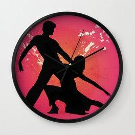 Hot Couple Dancers Wall Clock