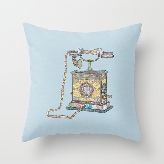 waiting for your call since 1896 Throw Pillow