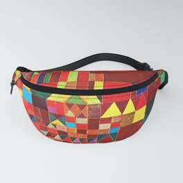 "Paul klee "" Castle and Sun "" Fanny Pack"