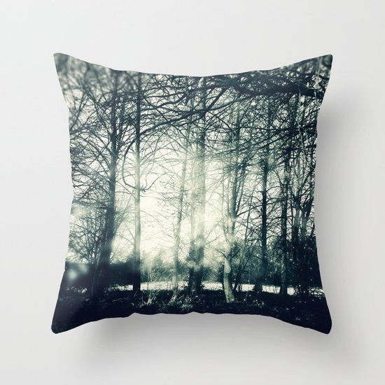 Faerie Wood Throw Pillow