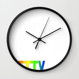 Gay 2 Wall Clock
