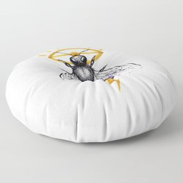 I'll Bee Watching You Floor Pillow