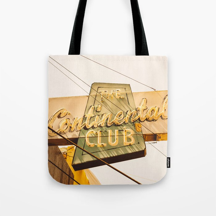 The Continental Club Tote Bag