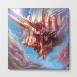 Floating Monolith Metal Print