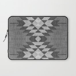 GREY DIAMOND LINEN Laptop Sleeve