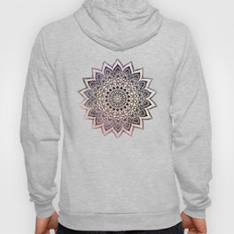 GOLD NIGHTS MANDALA IN PURPLE Hoody