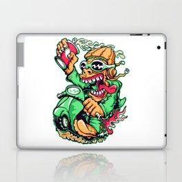 GREEN - Scooter Laptop & iPad Skin