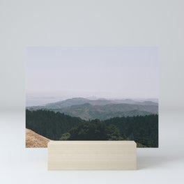 Mountain View of San Fransisco Mini Art Print