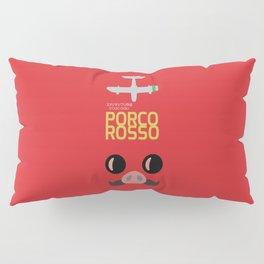 Porco Rosso - Hayao Miyazaki minimalist movie poster - Studio Ghibli, japanese animated film Pillow Sham